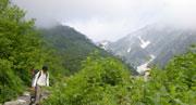 白馬岳山行